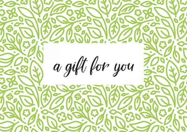 Tree Gifts  -  A Gift For You Card