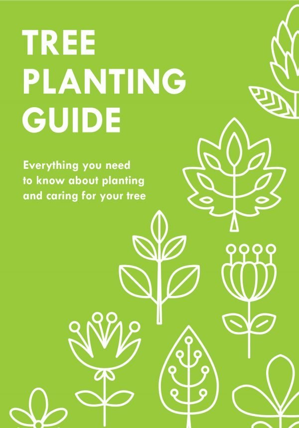 Tree Gifts - Tree Planting Guide - Front Cover