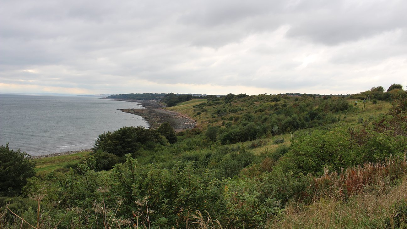 Buckhaven  -  Fife  -  View Out To The Firth Of Forth