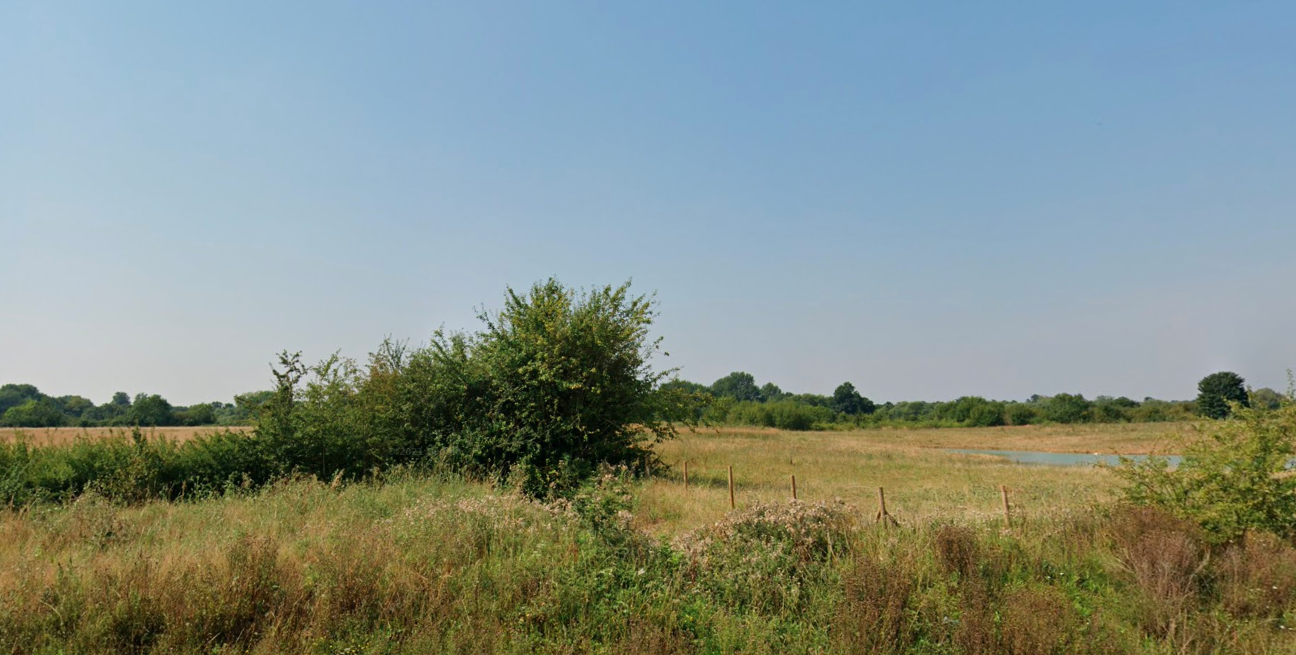 Burnehyll Community Woodland  -  Oxfordshire  -  Before Planting 2021