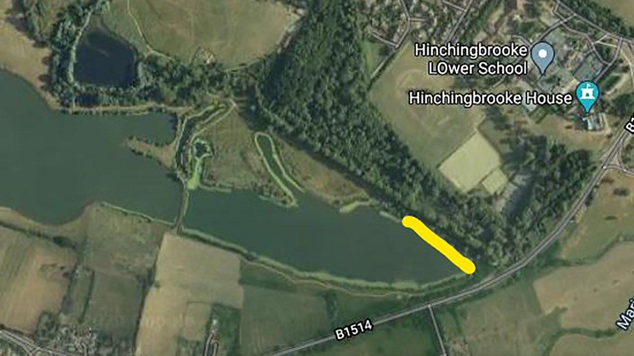 Hinchingbrooke Country Park  -  Cambridgeshire  -  Planting Area 2020 2021