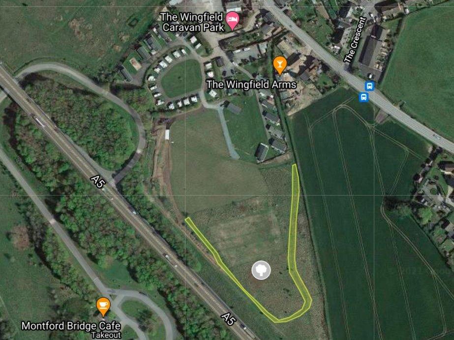 Wingfield Woodland  -  Shropshire  -  Tree Planting Plan